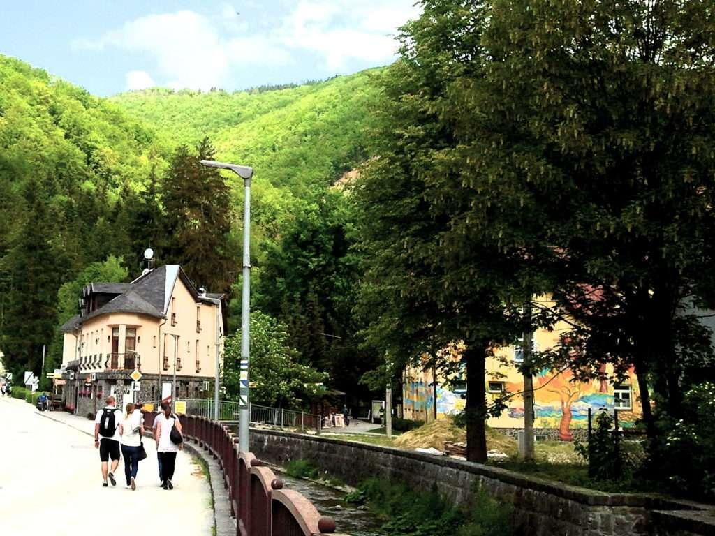 současná historie města Rajecké Teplice