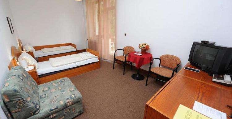 Pokoj Comfort v hotelu Malá Fatra v Rajeckých Teplicích