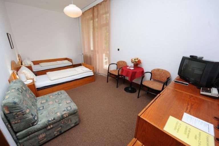 Izba Comfort v hoteli Malá Fatra v Rajeckých Tepliciach