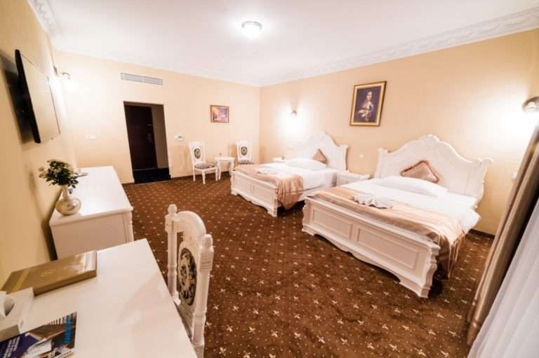 Pokoj De Luxe v hotelu Aphrodite Palace