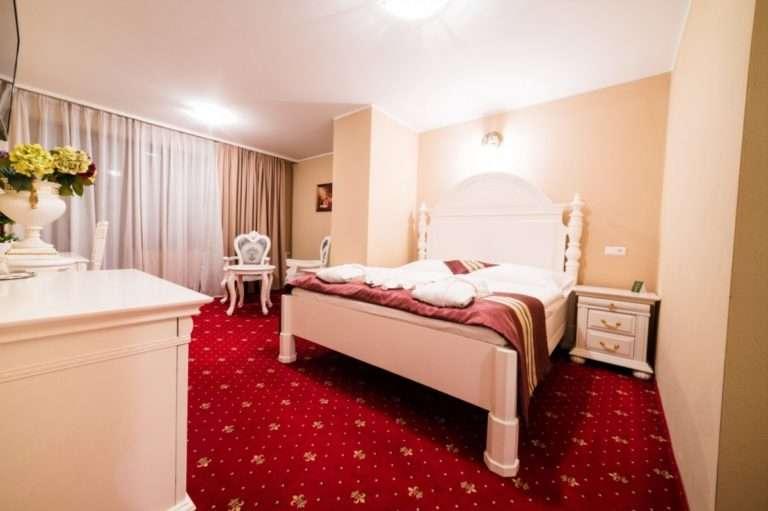 Pokoj Comfort v hotelu Aphrodite Palace v Rajeckých Teplicích.