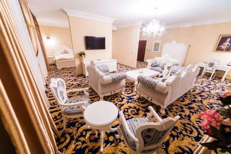 Suita v hotelu Aphrodite Palace v Rajeckých Teplicích
